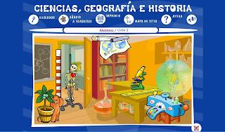 Ir a: Ciencias, Geografía, Historia - Segundo Ciclo
