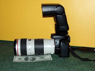 Canon 400D + Canon EF 70-200/4L USM
