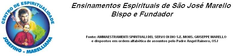Ensinamentos Espirituais de São José Marello