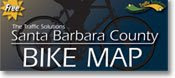 Santa Barbara County Bike Map