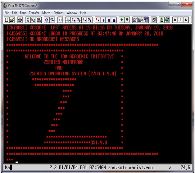 the basic concepts of a mainframe On an ibm mainframe running any mvs-related operating system (the current release is z/os), you use tso/ispf to do everyday tasks of program development, like editing source programs, compiling and running them, displaying file contents, and much more.