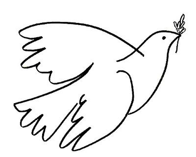 A pomba da paz