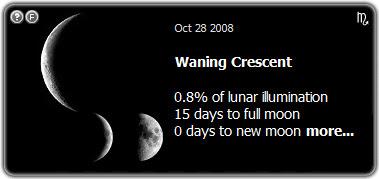 Lua nova de 28 de outubro de 2008, publicada no blog good news de Isabella Lychowski