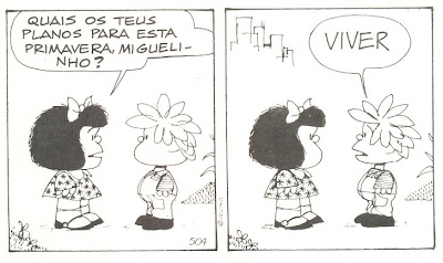 Mafalda também é filosofia aqui no good news
