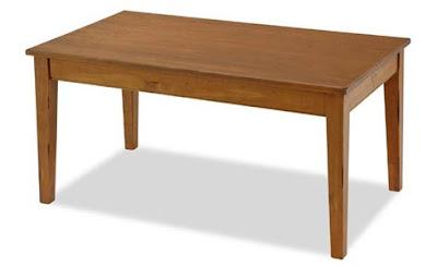 Uma mesa é uma mesa é uma mesa