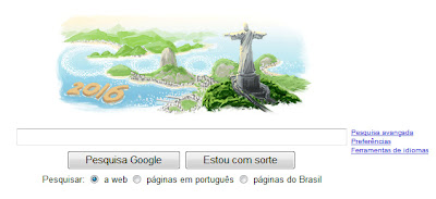 Google´s HomePage features Rio 2016