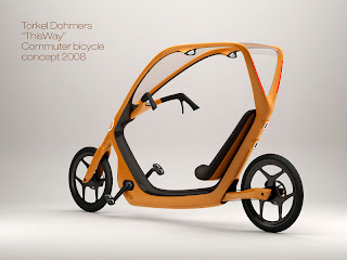 ThisWay- winner of the BicycleDesign.net commuter bike design competition