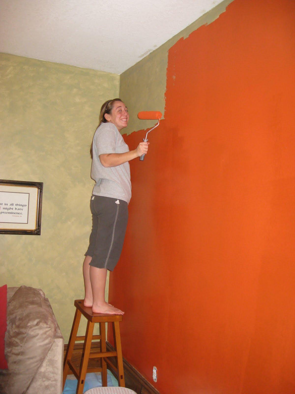 Orange Paint Leftovers Part 91