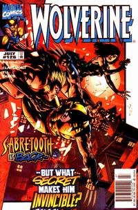 Wolverine #126 Blood Wedding 1998; Absurd marriage storyline