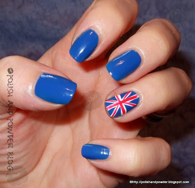 Rimmel union jack nail flashy nails with minimum effort how on earth would i do the union jack prinsesfo Image collections