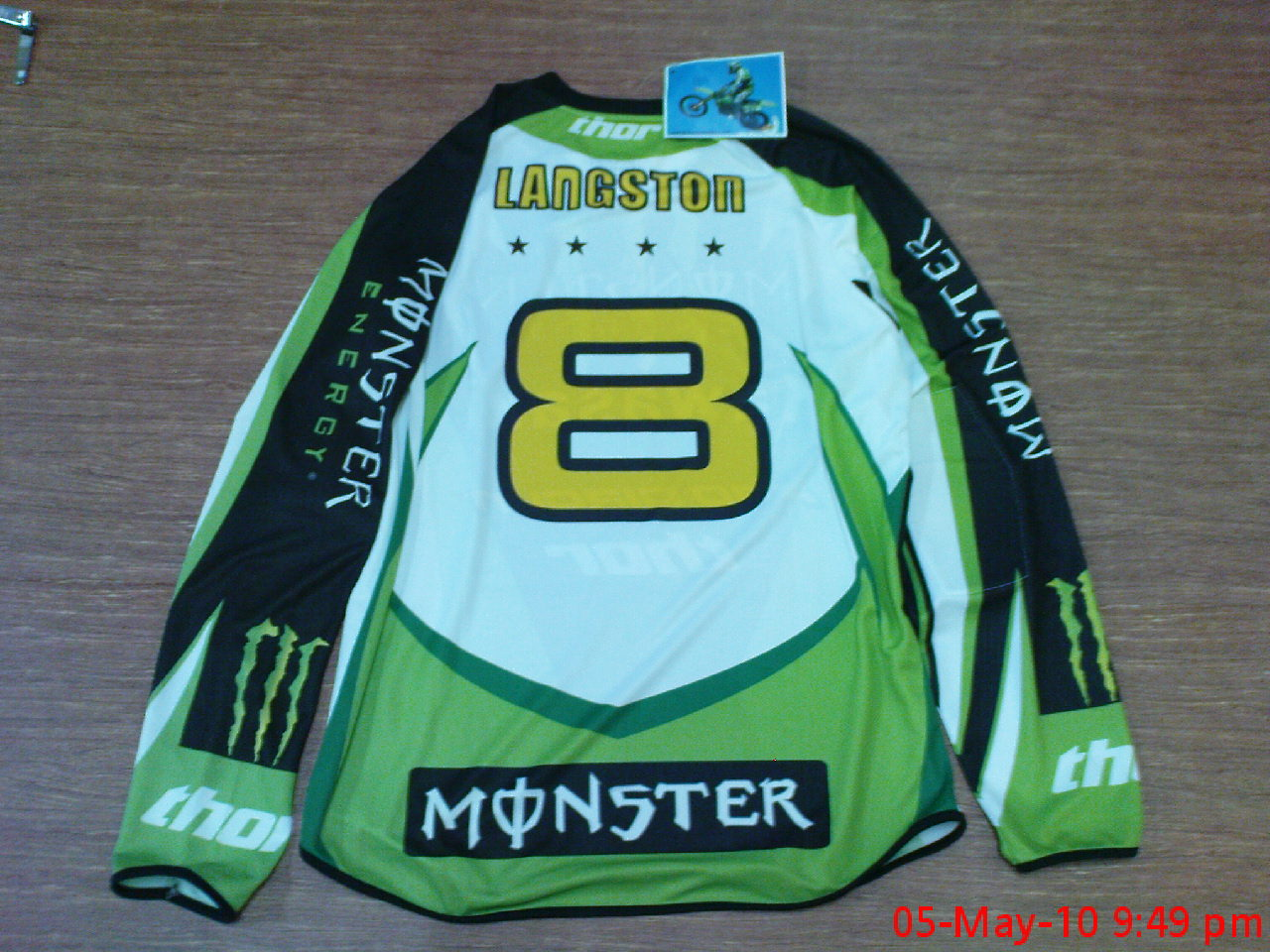 JBwallmart: baju motorcross kawasaki monster
