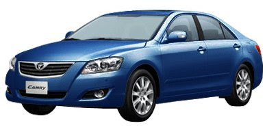 Toyota All New Camry - Dark Blue Mica