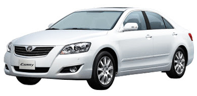 Toyota All New Camry - White Pearl CS (Type Q)