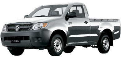 Pilihan Warna Toyota New Hilux - Silver Metallic