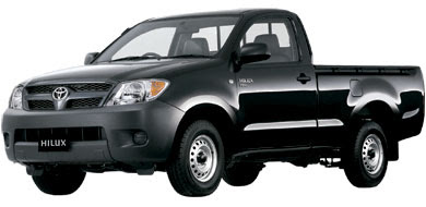 Pilihan Warna Toyota New Hilux - Black Mica