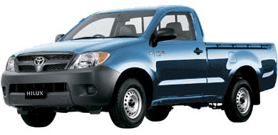 Pilihan Warna Toyota New Hilux - Blue Metallic