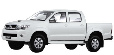 Pilihan Warna Toyota New Hilux - White