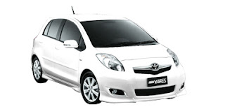 Toyota Yaris 2010 Warna