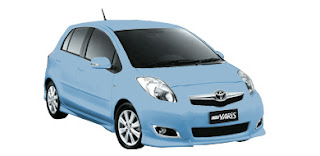 Warna Toyota Yaris 2010