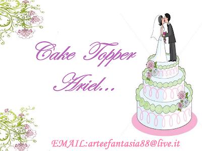l'altro mio blog cake topper