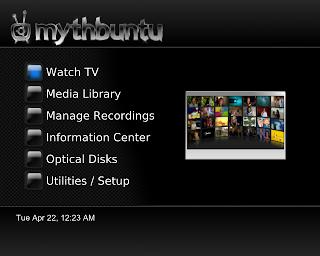Mythbuntu - MythTV based PVR system