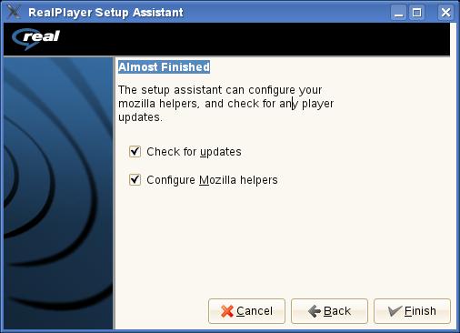 Configuración Plugin RealPlayer para Firefox 3.X
