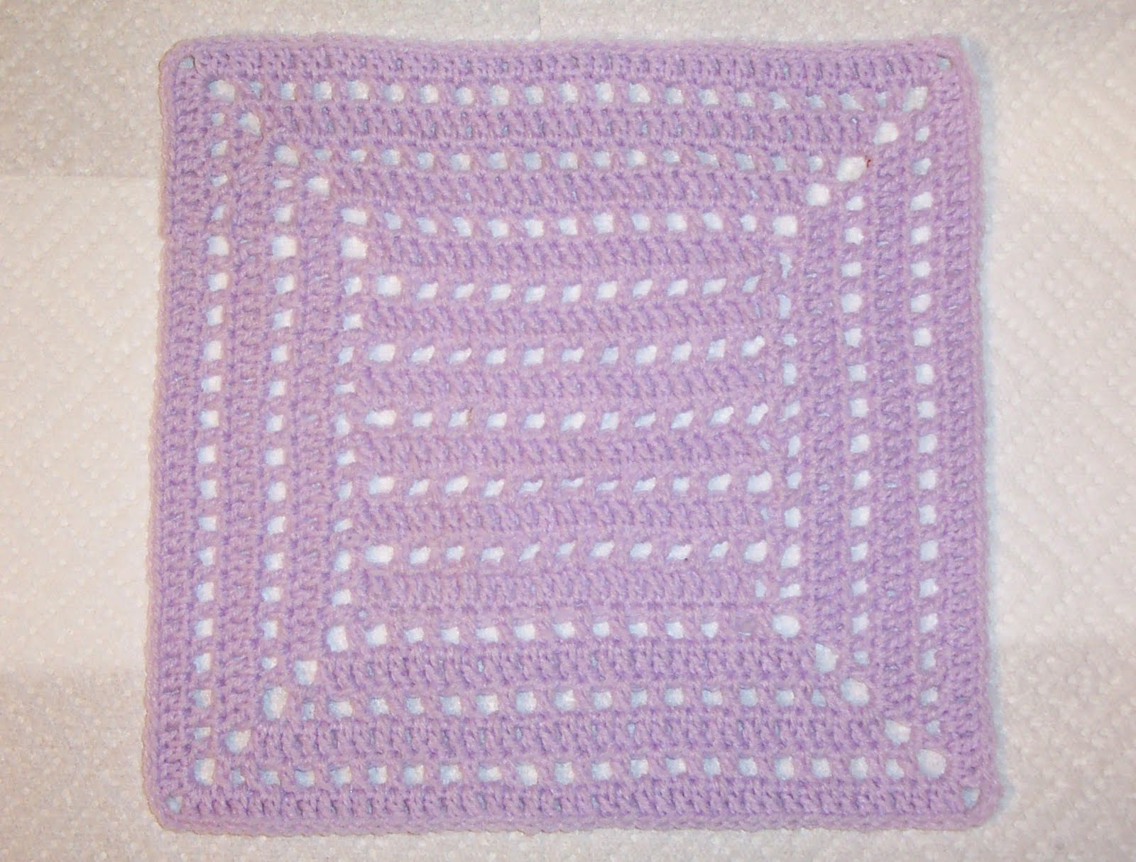 Knitting Holes Pattern : SmoothFox Crochet and Knit: SmothFoxs A Whole Lotta Holes 12x12 - free p...