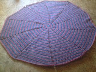 Spiral Crochet Blanket Pattern