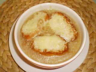 Sopa de cebolla...