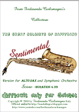 For Alto Saxofones and Simphonic Orchestra