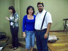 Profª Sueli Pós-Graduação/Letras - Prof. Marlon/Pós-Doutorado.