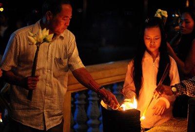 La gente cambogiana è molto accogliente