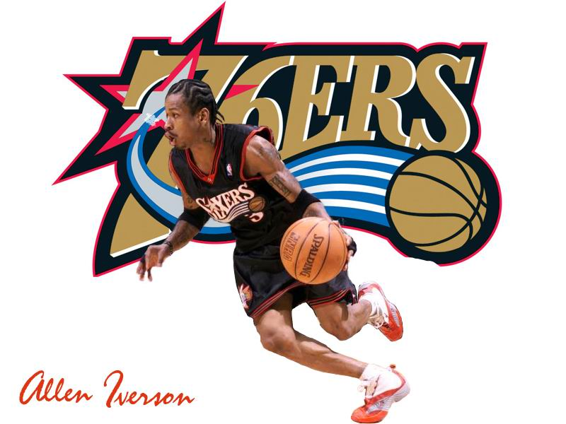 reporter who covered iverson in his glory days with the 76ers allen