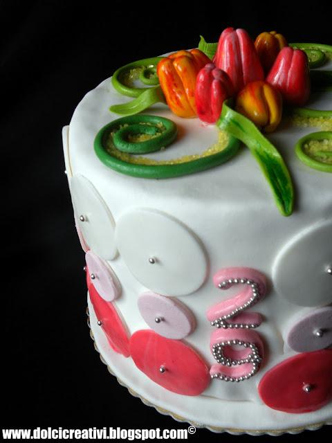 Torta Tulipani