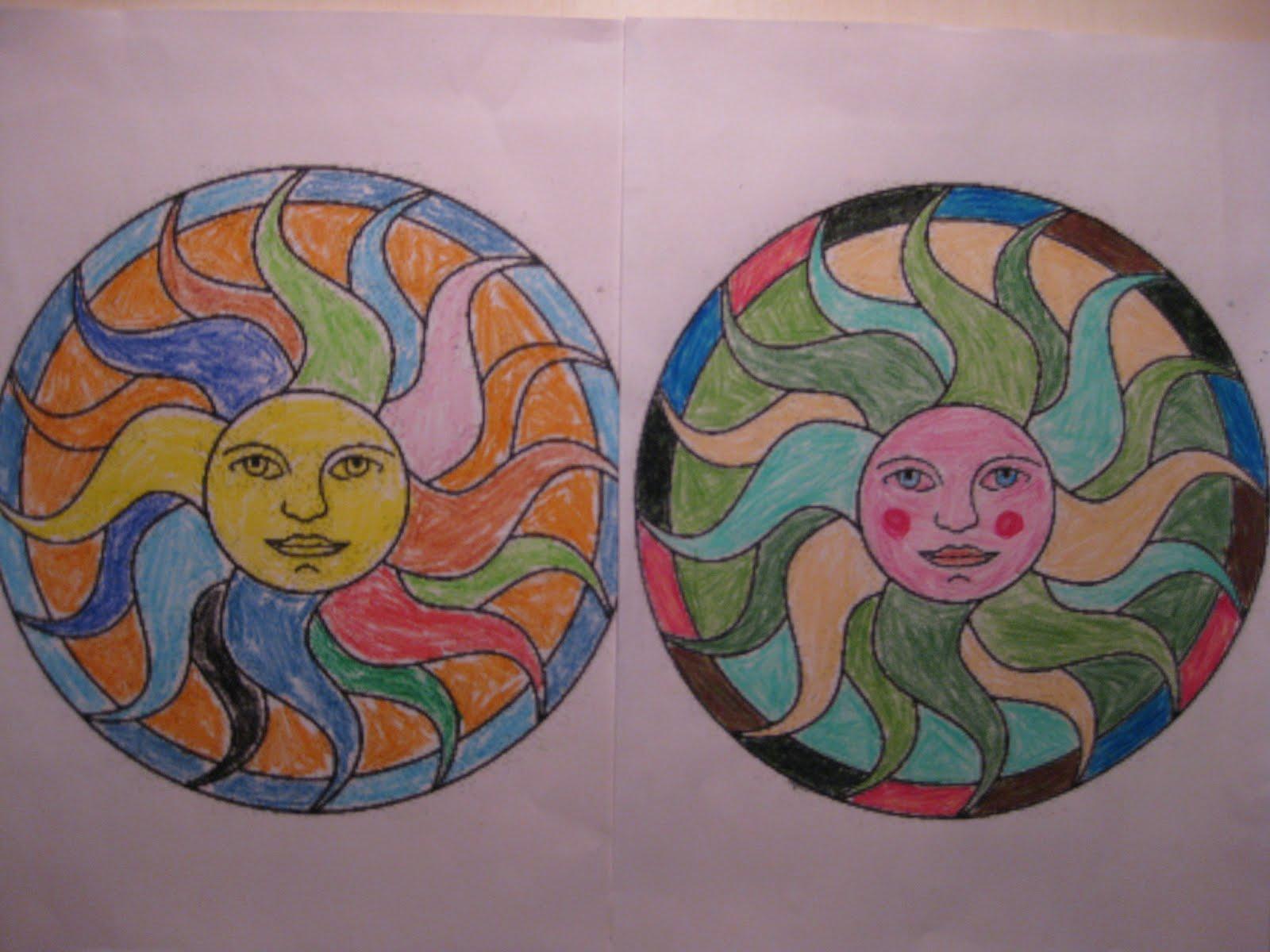 Construyendo arte d i v e r s i d a d pintar mandalas - Vidrieras de colores ...