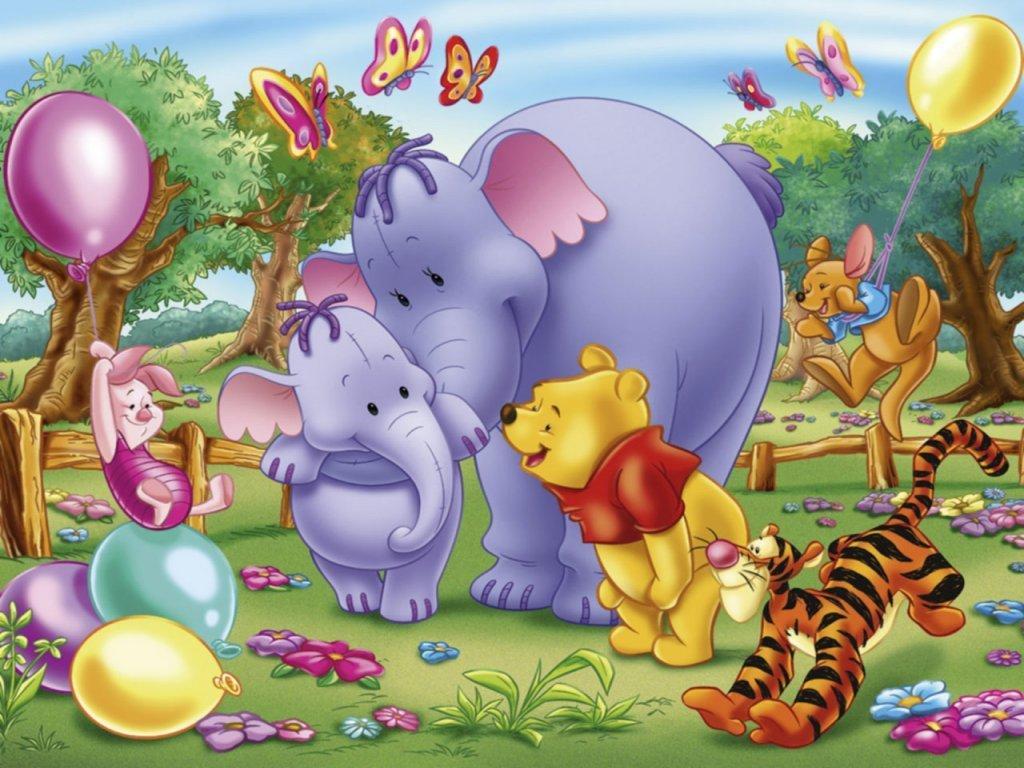 I Love Cartoon  Winnie The Pooh And Friends