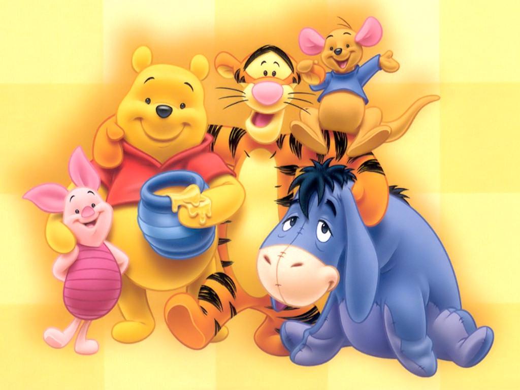 I love cartoon winnie the pooh and friends - Winnie the pooh and friends wallpaper ...