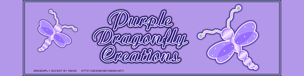 Purple Dragonfly Creations