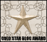 Gold Award received from Linda