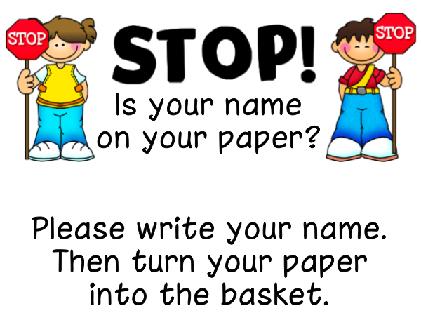 remembering s on papers ladybug s teacher files remembering s on papers