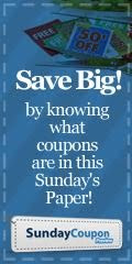 Preview Sunday Coupon Inserts!