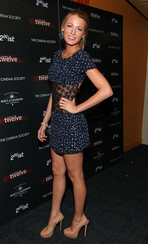 blake lively chanel dress. Blake Lively wearing CHANEL