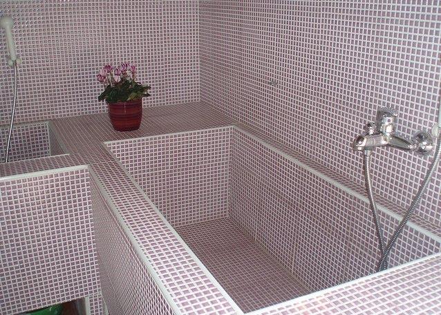 Baños Con Tina De Cemento:638 x 456 jpeg 123kB, Como Construir Una Casa Hacer Bricolaje Es