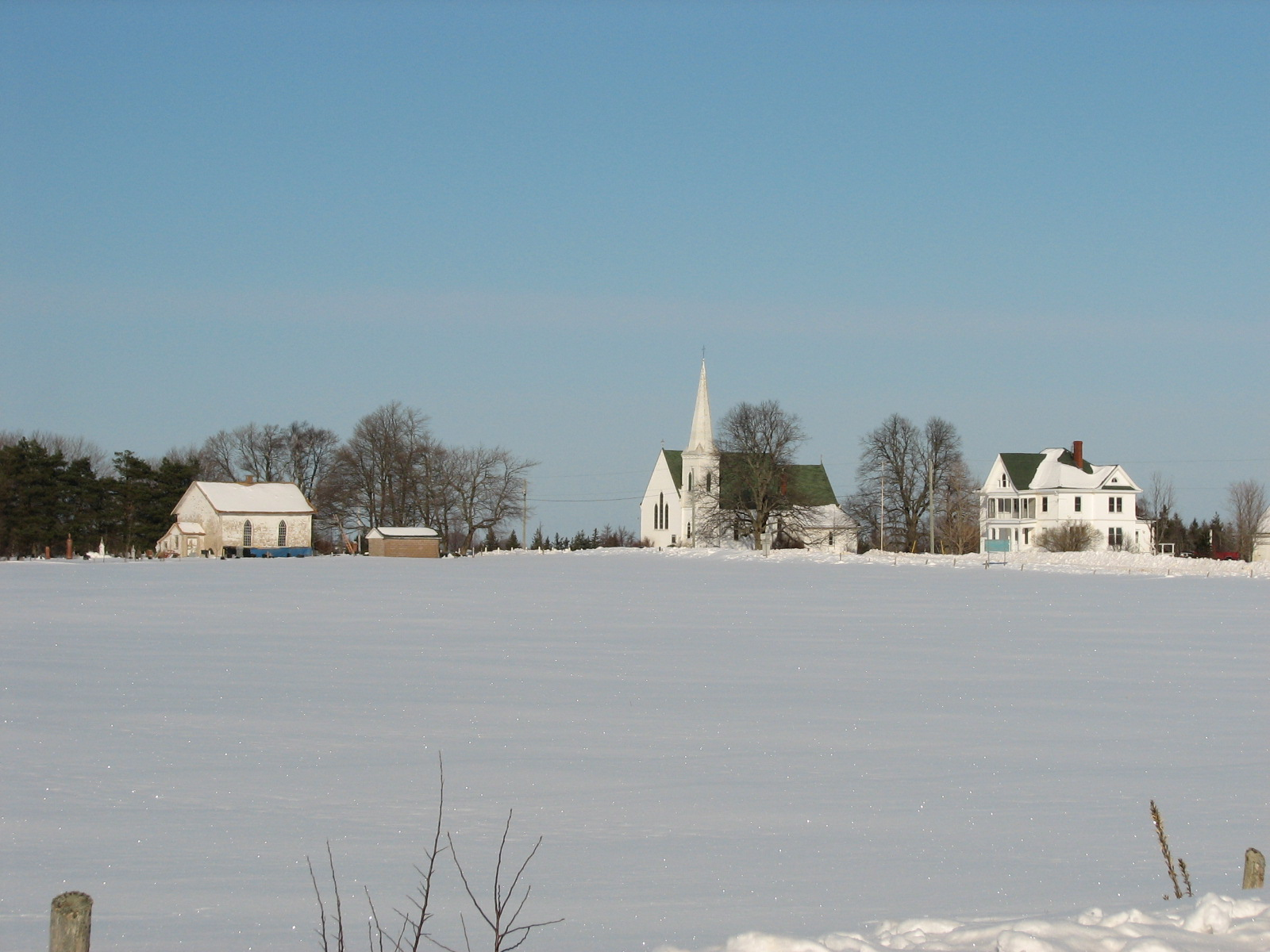 P e i heritage buildings the beauty of rural prince for Pei home builders