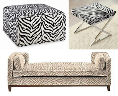 Row 1 1 zebra cocktail ottoman 999 macy s 2 crosby stool