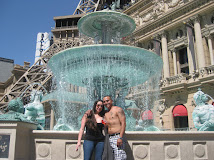 Beautiful Fountain at The Paris