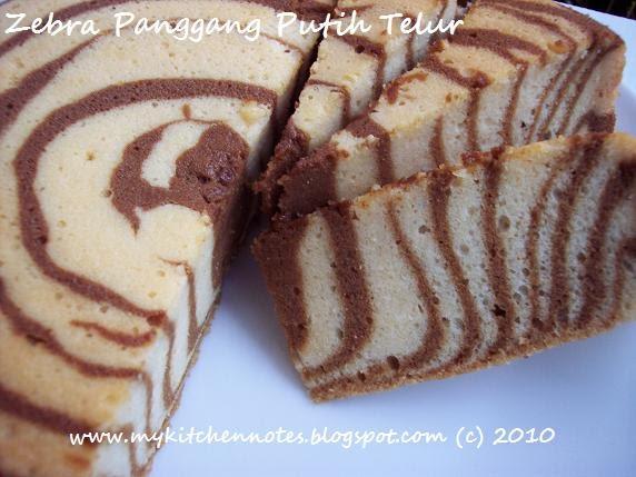 Cake Zebra Panggang