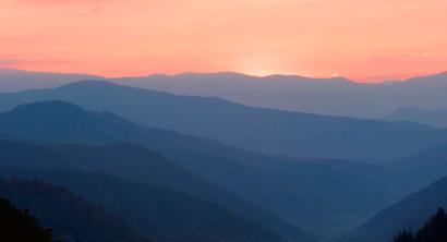 Our Beautiful Blue Ridge Mountains, Good-Bye, God Bless...