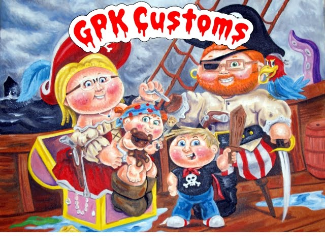 Custom GPK Artwork Blog