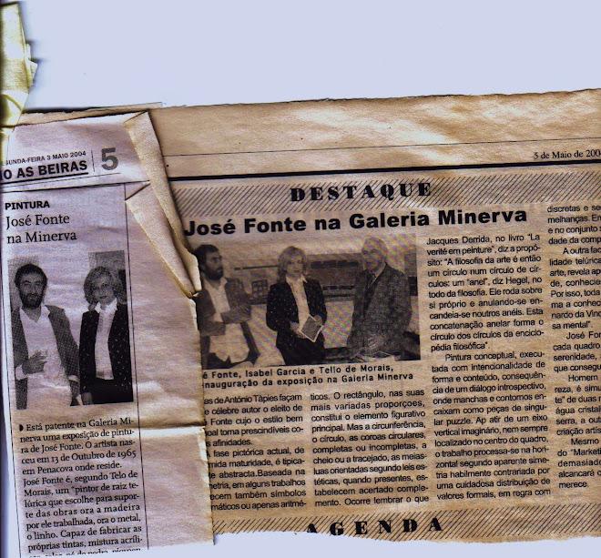 2004  Exposição na GALERIA MINERVA COIMBRA